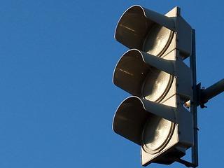 В промышленной части Березников отключены светофоры