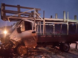 В аварии погиб водитель иномарки