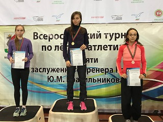 Березниковские легкоатлеты привезли со Всероссийских соревнований в Казани много золота
