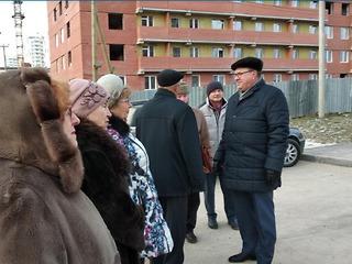 Старейшины проверили ход работ в ЖК «Любимов»