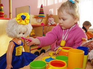 Очередь в дошкольные учреждения существует