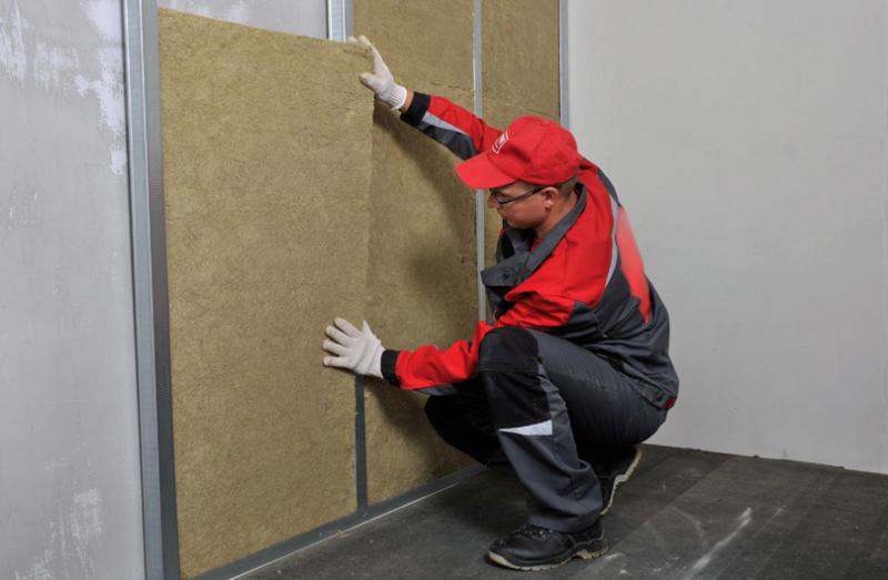Утепление стен при строительстве и ремонте