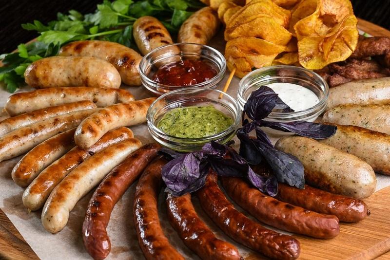 Колбаски и сосиски, Германия